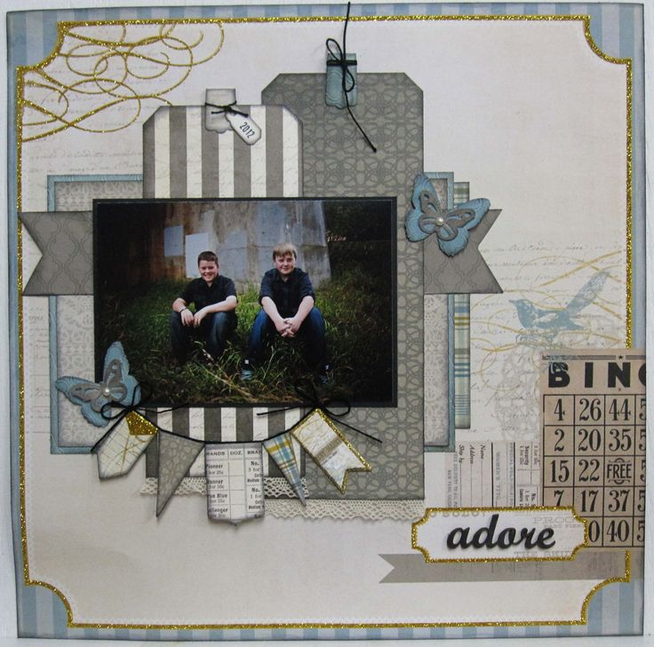 Lost and Found 3 Design by Charlene Scrapbook central