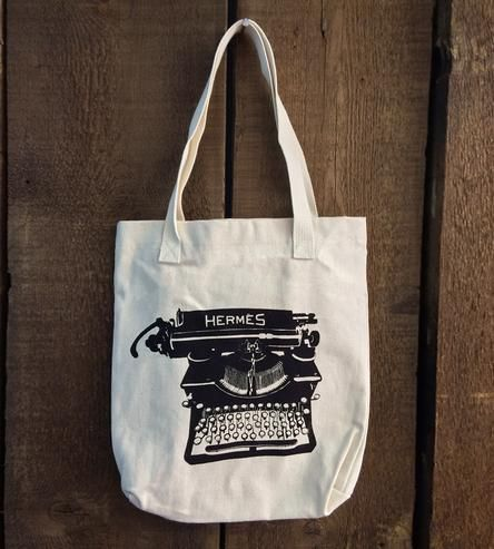 Typewriter Tote Bag by Troy Cloth & Paper on Scoutmob Shoppe