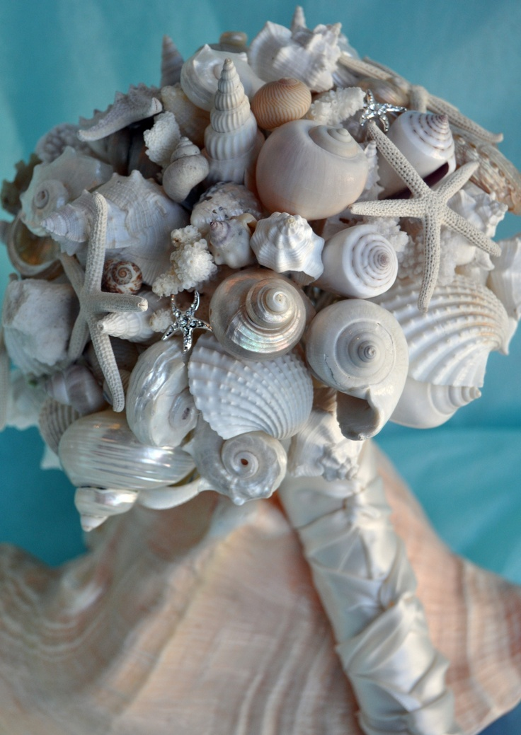 What A Great Beach Bouquet Idea