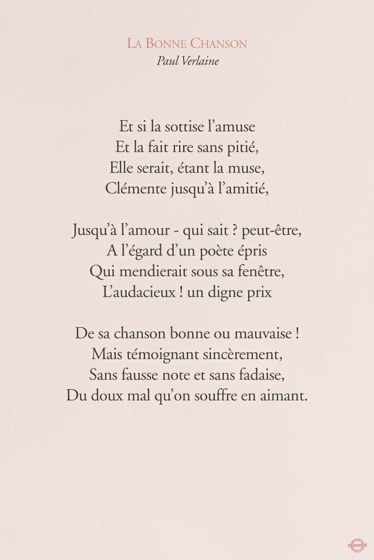 #citations #pixword #verlaine #paulverlaine #labonnechanson #love #amour #literature #text #french