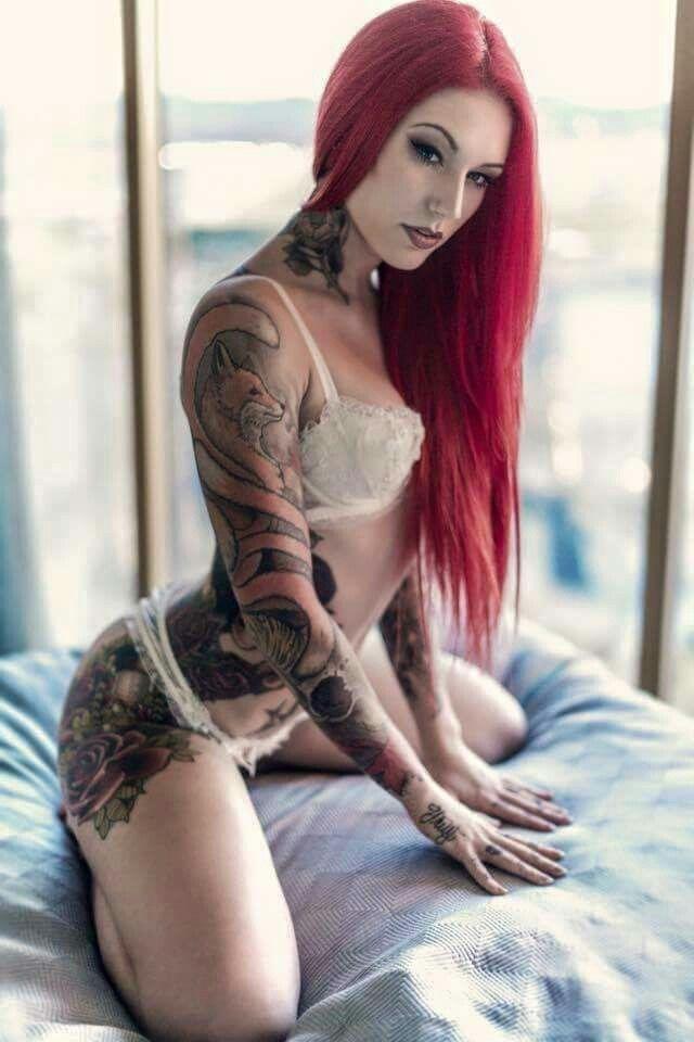Detroit redhead tattoos thank for