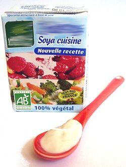 Crème de soja