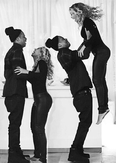 Bey & Jay You Ready Bey 1 2 3 Jump ❤♔Life, likes and style of Creole-Belle ♥ #Beyonce #Jayz