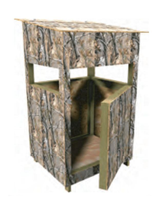 9 Free DIY Deer Stand Plans: Free Deer Stand Plan at Hope Depot