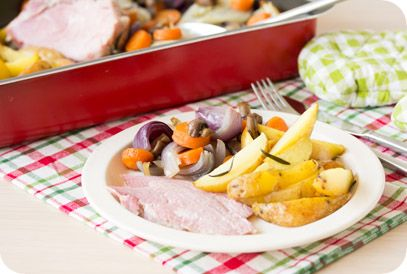 Flinndal | Gezond Gewicht | Beenham, groenten en aardappeltjes