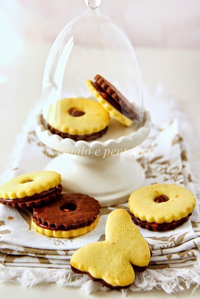 CUCCHIAIO E PENTOLONE: i biscotti di riso bicolori di Milena, dedicati a lei