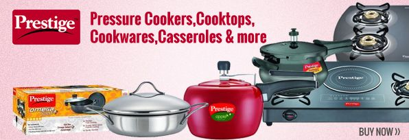 Shopping of #kitchenware products is so easy through online stores. Infibeam has branded kitchen products online with free shipping in India. #Prestige is well known brand which has best quality kitchen items like #cooktops, #pressurecookers, #casseroles, #cookwares & more. Get latest kitchen products to make work easy & simple. Buy prestige kitchenware products from online shopping portal with free shipping & cash on delivery in India..