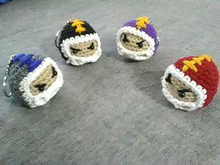 Ravelry: Mini Football Head pattern by LATisha Tutwiler
