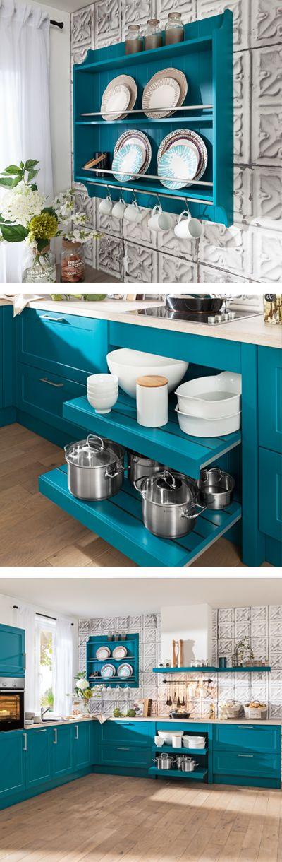 38 best Landhaus Küchen images on Pinterest - farben für küchenwände