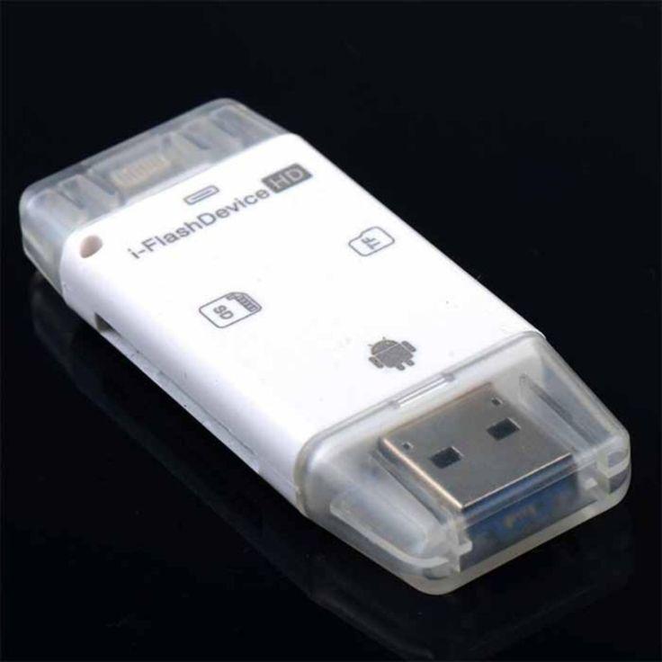 รีวิวสินค้า<SP>5G All in 1 i-Flash Drive Lightning Micro USB TF SD Card Reader For Iphone 5/5S/5C/6 6S 7 Plus ipod ipad IOS Andriod VAH73 T0.4 การ์ดรีดเดอร์ Card reder แฟรชไดร์++5G All in 1 i-Flash Drive Lightning Micro USB TF SD Card Reader For Iphone 5/5S/5C/6 6S 7 Plus ipod ipad IOS Andriod VAH73 T0.4 การ์ดรีดเดอร์ Card reder แฟรชไดร์ (1 รีวิว) System requirement : iOS Mac ...++