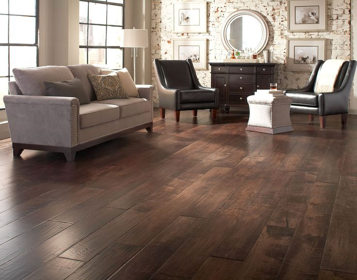 dark wood floor family room. Rustic Living Room Hardwood Flooring By Johnson  17 Best Hardwood Flooring Images On Pinterest