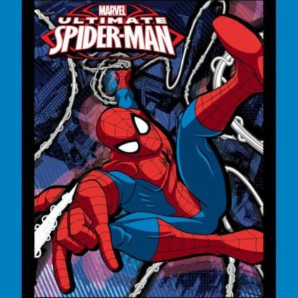 Ultimate Spider-man Quilt Panel to sew