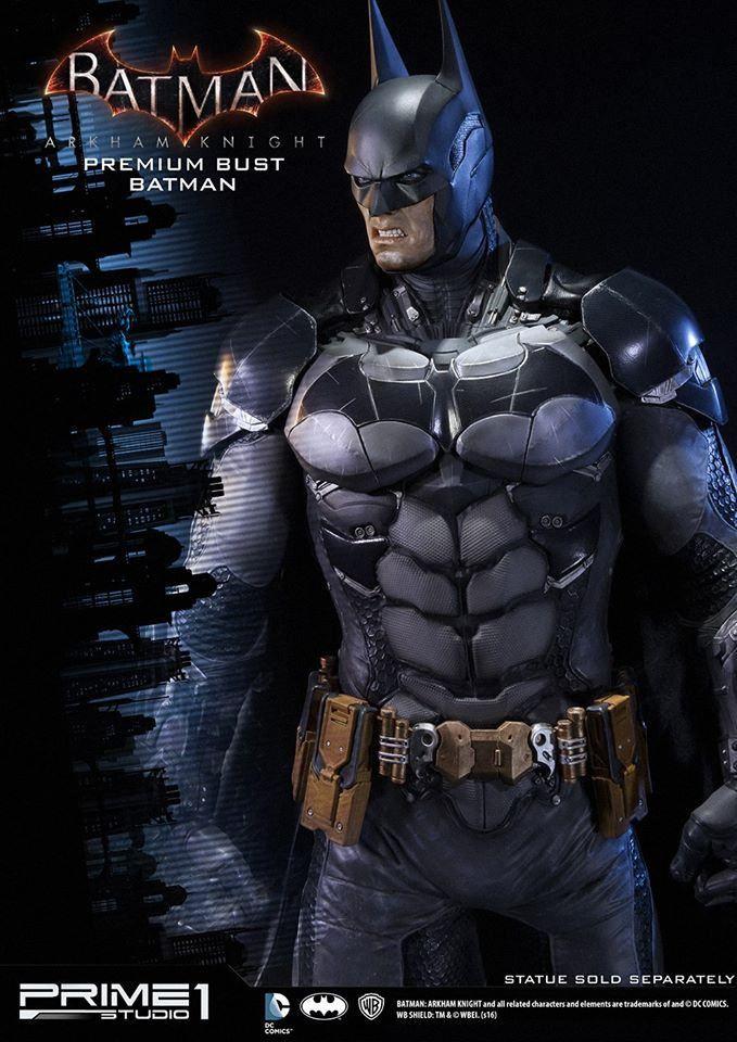 Prime 1 Studio 阿卡漢騎士【蝙蝠俠】Batman Arkham Knight 半身胸像 | 玩具人Toy People News