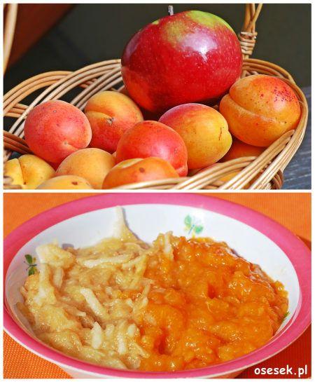 Przecier z jabłek i moreli przepis dla niemowlęcia po 7 miesiącu. więcej na www.osesek.pl