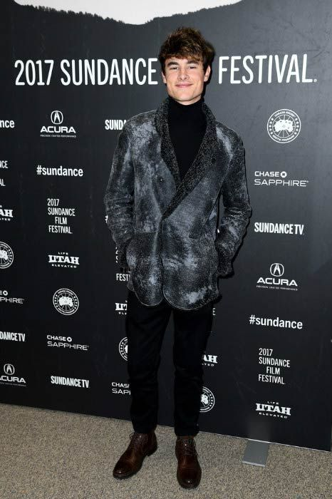 YouTuber Kian Lawley at the Before I Fall premiere at Sundance Film Festival in January 2017...