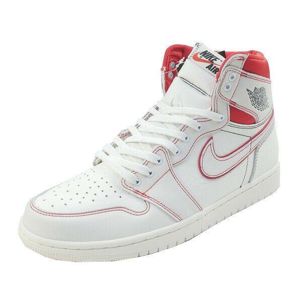 reputable site c2770 043e0 eBay  Sponsored NIKE AIR JORDAN 1 RETRO HIGH OG SAIL 555088-160 Sneakers  WHITE US 10