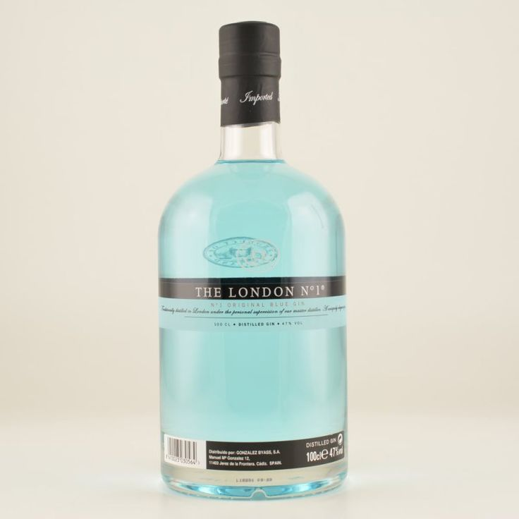 The London Gin Nr.1 Original Blue Gin 47% 1,0l, 32,90 €