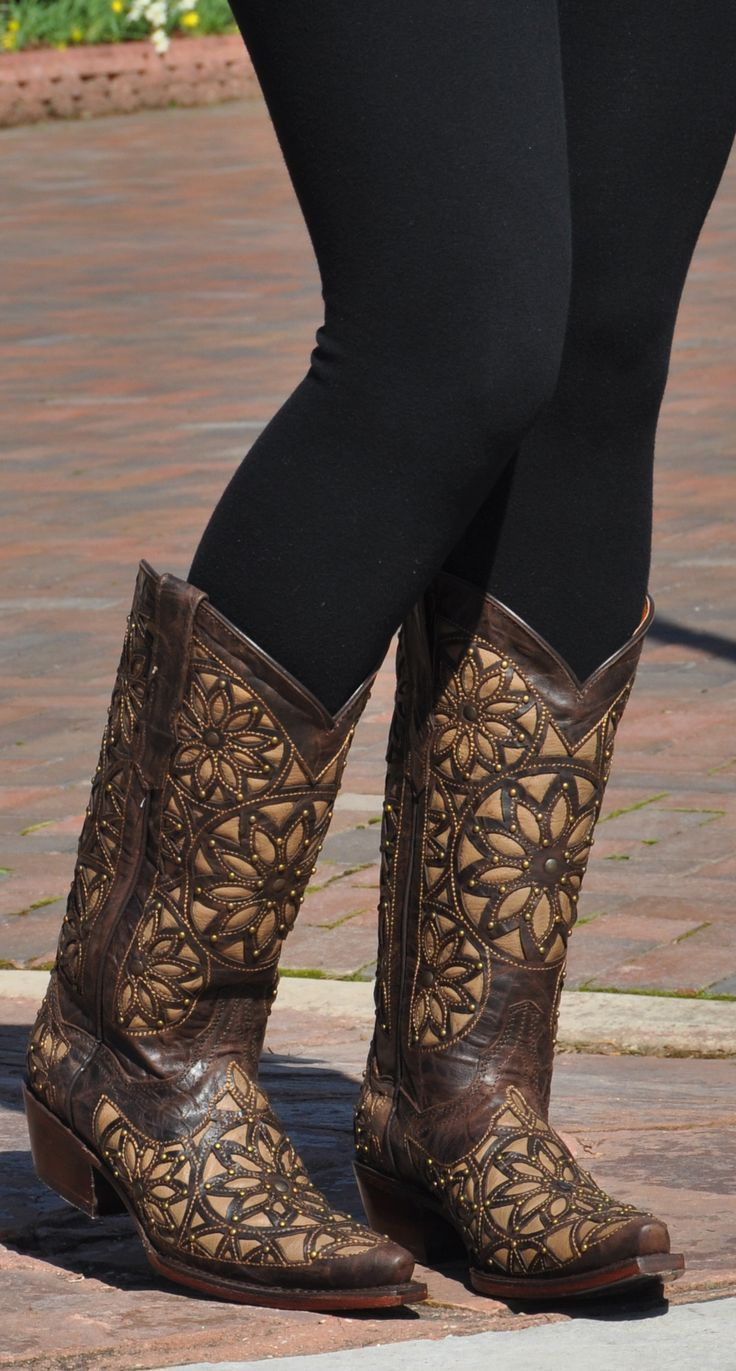 Womens Turquoise Inlay Women's Cowboy Boots By Soto Boots Store Online Size 38