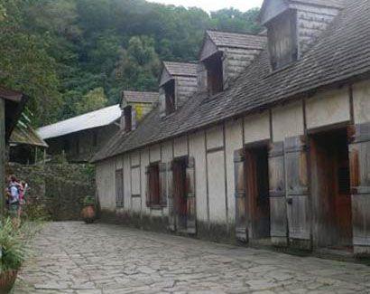 Plantation caféière la grivelière Vieux-Habitants Guadeloupe