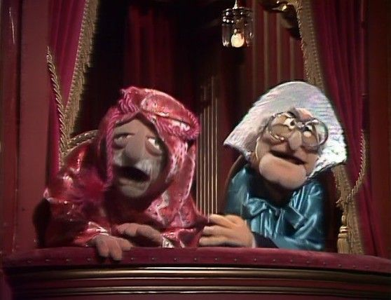 17 best images about waldorf statler on pinterest the for Balcony muppets