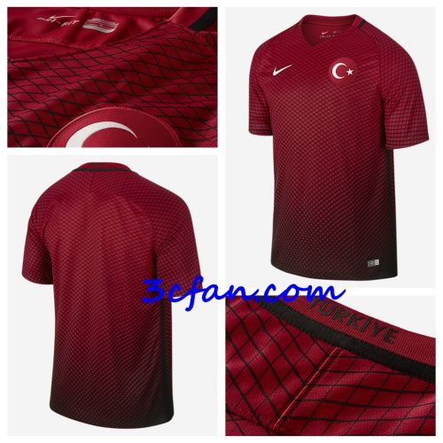site pour maillot de la turquie euro 2016 domicile rouge flocage officiel discount maillot de. Black Bedroom Furniture Sets. Home Design Ideas