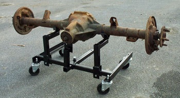 Axle Dolly Auto Restoration Tool Rotisserie Car Truck | eBay