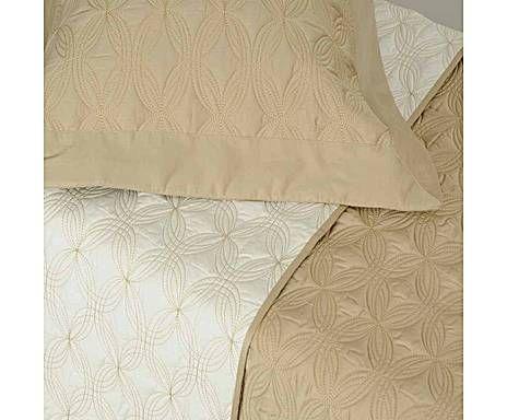 Ruth Sanches Cama: Conjunto de cobre-leito Tritone para cama king size - hendrix