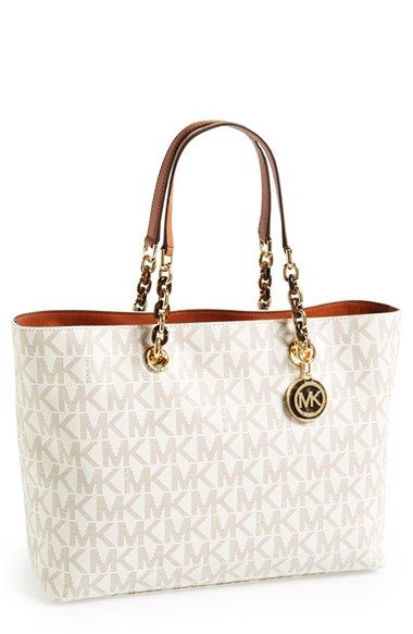 MICHAEL Michael Kors 'Large Cynthia' Tote available at #Nordstrom It even has my name on it! ^_^