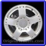 Audi Allroad 2001 Wheels & Rims Hollander #58740 #Audi #Allroad #AudiAllroad #2001 #Wheels #Rims #Stock #Factory #Original #OEM #OE #Steel #Alloy #Used