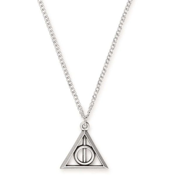 Deathly Hallows Necklace - ALEX AND ANI ($38) ❤ liked on Polyvore featuring jewelry, necklaces, alex and ani, alex and ani necklaces and alex and ani jewelry