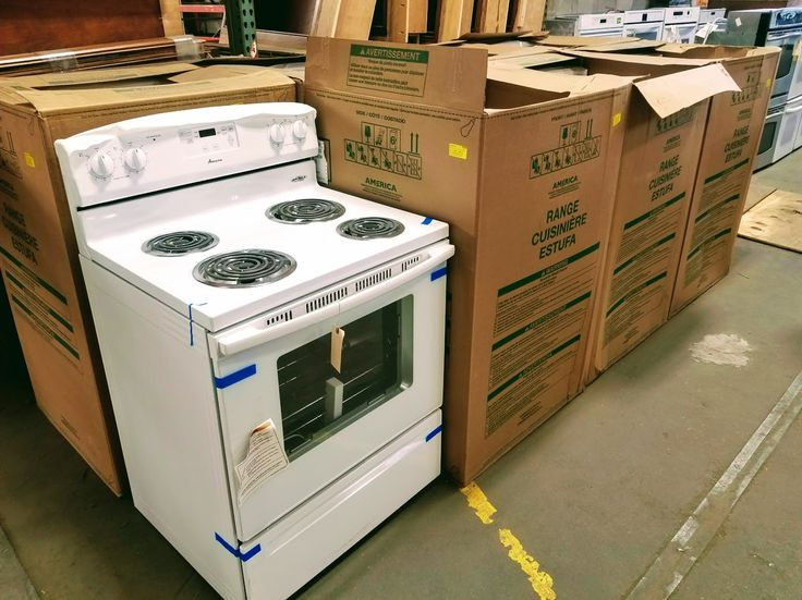 Doing any cooking this holiday season? We have 8 NEW-IN-THE-BOX Amana electric 4-burner range/ovens!  Price: $365.00 (Item #165701)  On 12/1/2017 = $292.00 On 1/15/2018 = $237.25 On 3/1/2018 = $182.50  Maybe a new oven would be fun for your culinary adventures.... moist turkey, hot ham, steamy mashed potatoes, green bean casserole, warm bread, sweet potato pie, sweet corn, pumpkin pie, yummy stuffing.... ugh, I gotta stop before I drool all over my keyboard!!