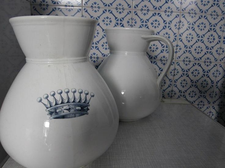 Water pitchers, kitchen in Palermo