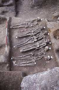 Plague Pit discovered near Tower of London