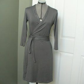 You Can Make It Too: Wrap Dress Pattern