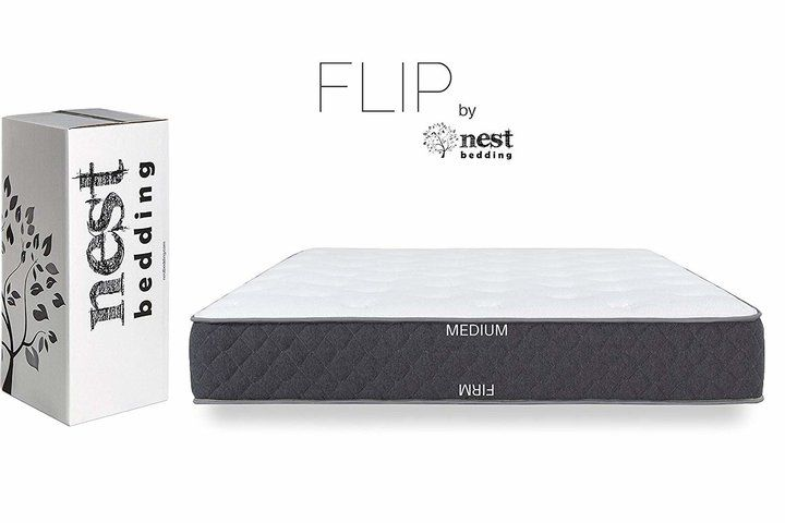 Amazon S Flippable Mattress Is Best For Side Stomach And Back Sleepers Huffpost Life Hybrid Beds Box Bed Nest Bed