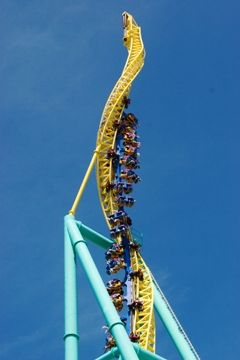world's most amazing roller coasters - [one would have to be crazy or have a death wish]