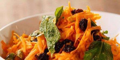 Moroccan Raw Carrot Salad