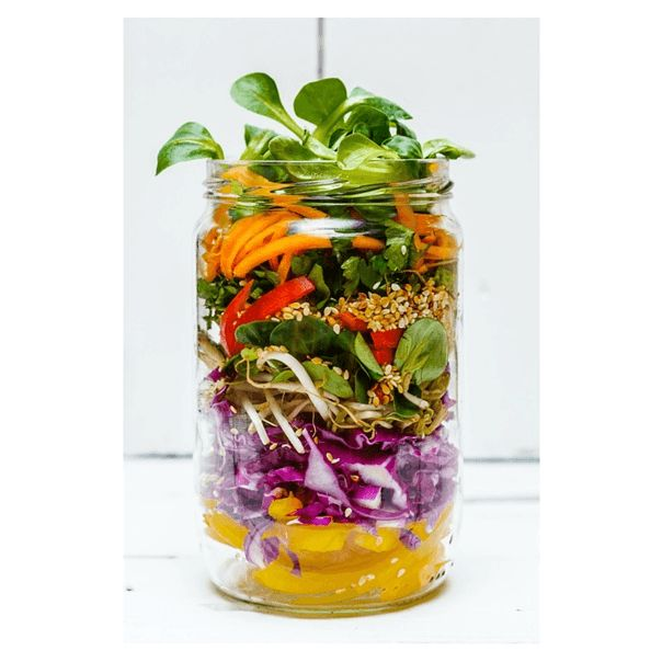 Asian Salad Jar
