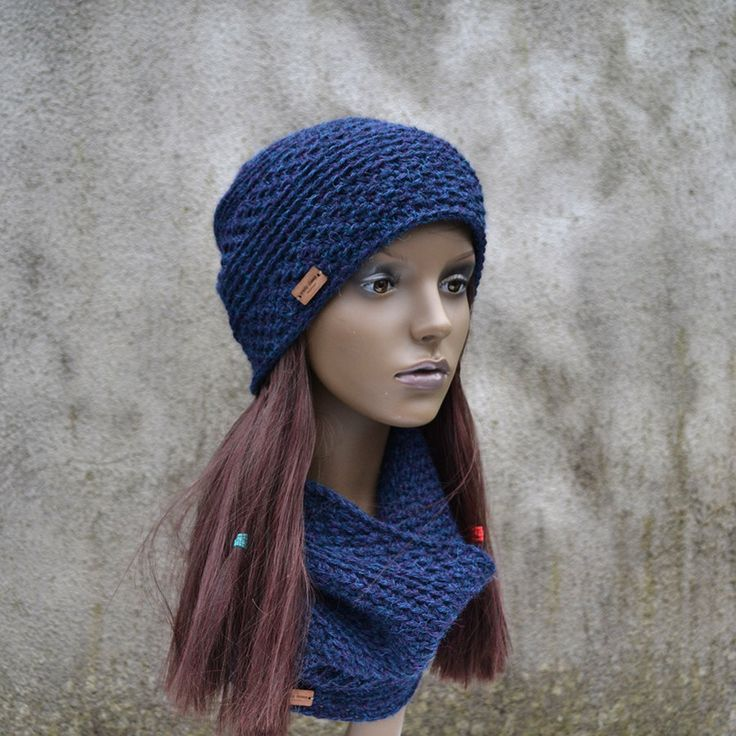 Unisex Alpaca Winter Hat and Neck Warmer Set in Blue Turquoise - Different Colors Available by acrazysheep on Etsy https://www.etsy.com/listing/262743227/unisex-alpaca-winter-hat-and-neck-warmer