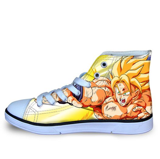 Dragon Ball Z Goku HIGH TOP SHOES