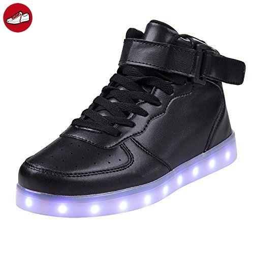 SGoodshoes Mädchen Jungen Led Leuchtet Schuhe Kinder 7 Farben Sport Turnschuhe Sneaker (*Partner-Link)