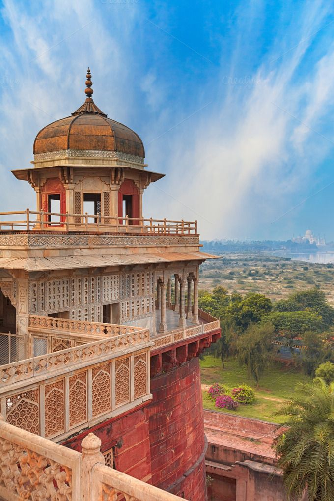 Agra Fort, India by sweet spot on Creative Market in 2020