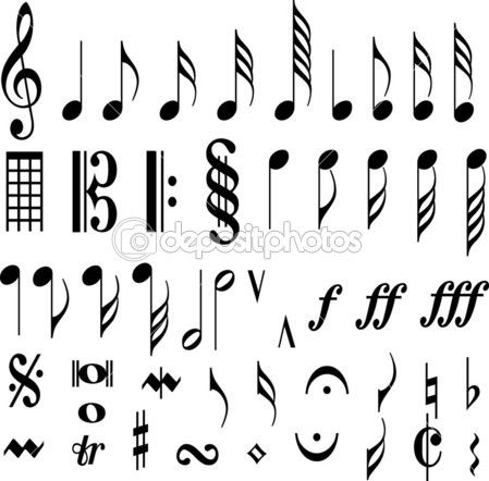 Music Symbols Paintingsartphotography Pinterest Music