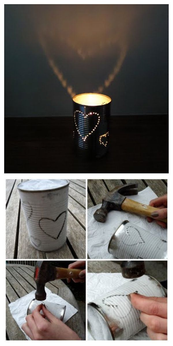 DIY Tin Lanterns