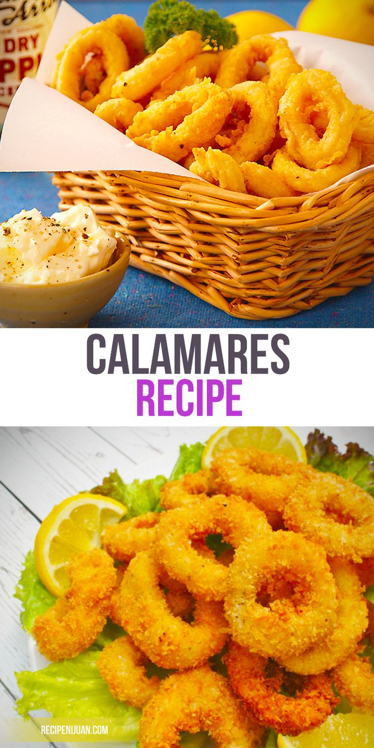You would need squid rings for this Calamares recipe. You could either use pre-cut squid rings in the market or buy entire squids and just cut it up into rings. If you cut the squid into rings yourself though, be sure that you are able to wash off all of its ink and cut off all the unnecessary parts.