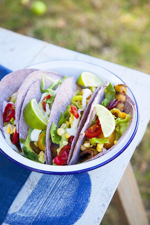 Tacos d'aubergines