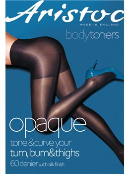 Aristoc 60 Denier Bodytoners Opaque Tights.