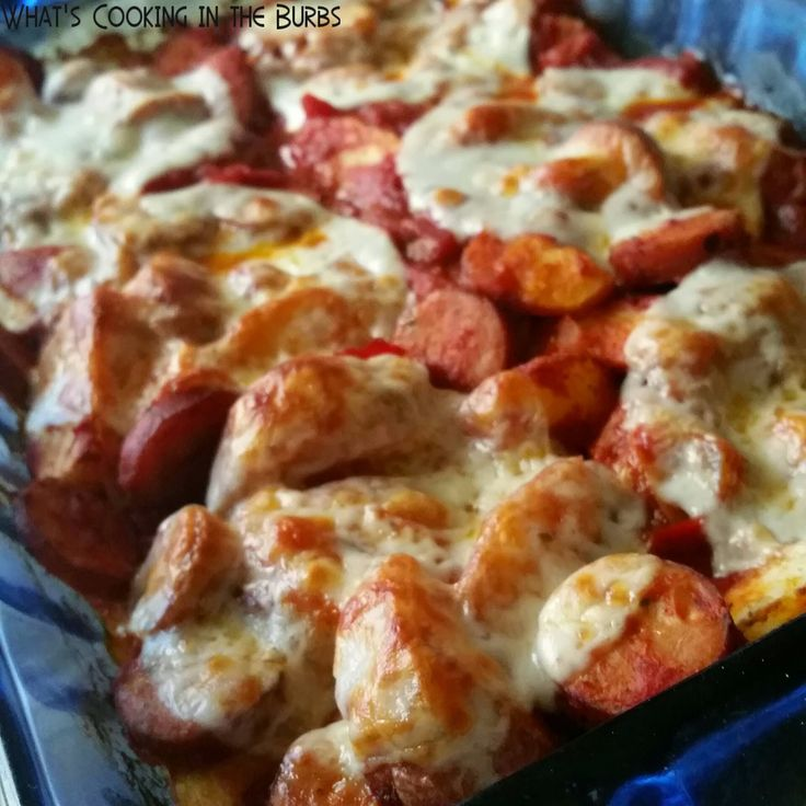 What's Cooking in the Burbs: Spicy Italian Sausage Potato ...
