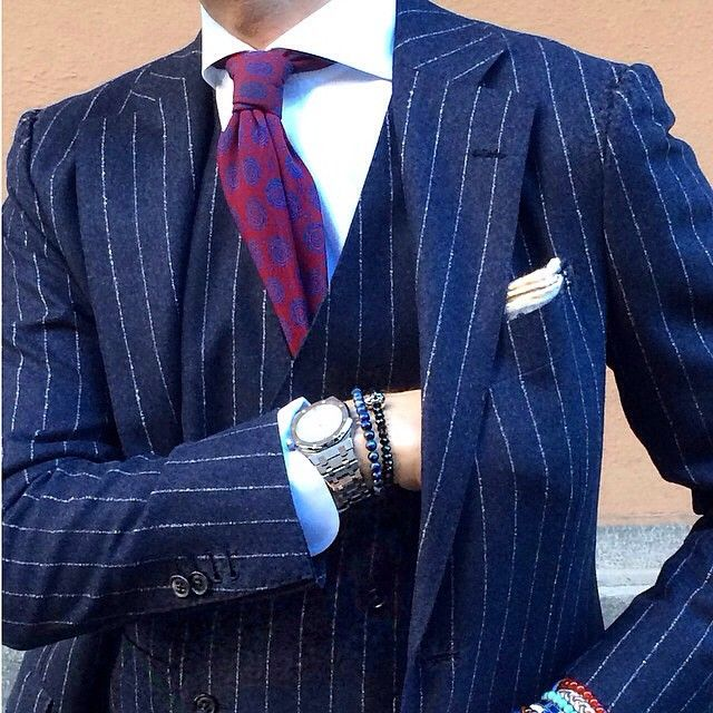 Perfect 3 Piece Pinstriped Suit Lionsden Incorporated