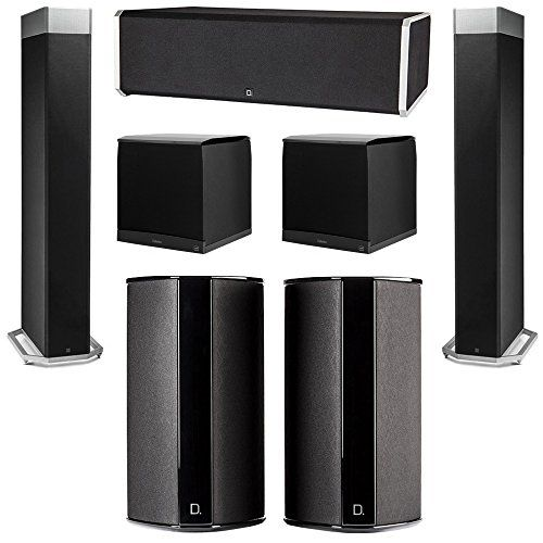 Definitive Technology 5.2 System with 2 BP9080X Tower Speakers, 1 CS9080 Center Channel Speaker, 2 SR9080 Surround Speaker, 2 Definitive Technology SuperCube 8000 Powered Subwoofer You will receive: 2 Definitive Technology BP9080X Tower Speakers + 1 Definitive Technology CS9080 Center Channel Speaker + 2 Definitive Technology SR9080 Surround Speaker + 2 Definitive Technology SuperCube 8000 Powered Subwoofer Definitive Technology Home Theater System Definitive Technology Super
